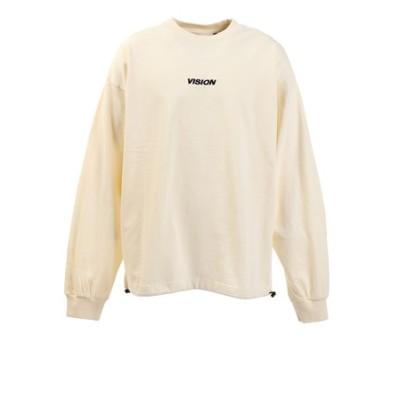ヴィジョン(VISION)Tシャツ メンズ 長袖 ドローコード 0323151-06OFF