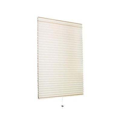 小窓用 スクリーン 59cm × 90cm ハニカムシェード | ロールスクリーン 断熱 小窓 カーテン ベージュ(C272-S2)