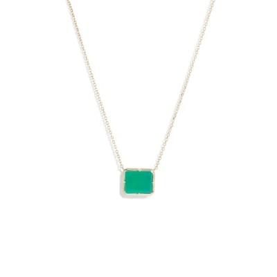 アンジー ネックレス・チョーカー・ペンダントトップ アクセサリー レディース Melia Green Onyx Pendant Necklace Green Gold