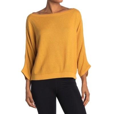 プラーナ レディース Tシャツ トップス Tierra Boatneck Sweater CURRY HEAT