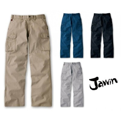 jawin ジャウィン 51002 70〜112 ノータックストレートカーゴパンツ 【秋冬】 自重堂 作業服 作業着 ユニフォーム
