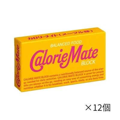大塚製薬 2本カロリーメイト ブロックメープル ×12個 栄養補助食品