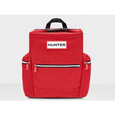 ハンター HUNTER オリジナル トップクリップ バックパック - ナイロン ORIGINAL BACKPACK NYLON 6017 ミリタリーレッド 国内正規品 UBB6017ACD-MLR