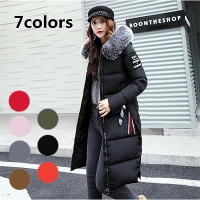 ダウンコート レディース服 ダウンジャケット 大人 冬服 コート アウター防寒 帽子付きお洒落 大きいサイズ送料無料