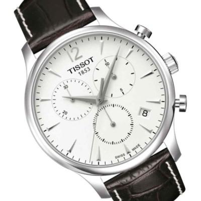 ティソ 腕時計 Tissot T Classic クラシック Tradition トラディション クロノグラフ Silver Dial メンズ Watch T0636171603700