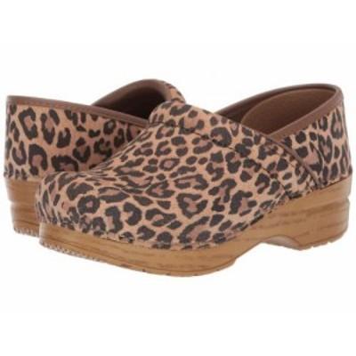 Dansko ダンスコ レディース 女性用 シューズ 靴 クロッグ ミュール Professional Leopard Suede【送料無料】