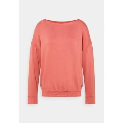 エスオリバー カットソー レディース トップス Long sleeved top - light pink