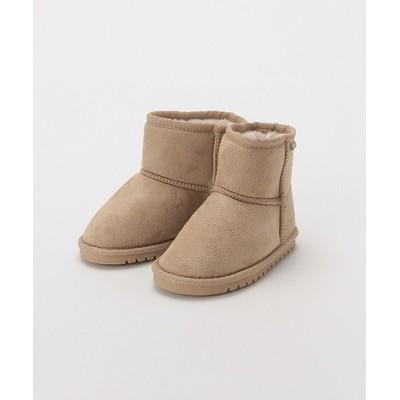 petit main / フェイクムートンブーツ KIDS シューズ > ブーツ