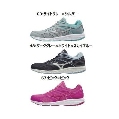 【送料無料】MIZUNO トレーニングシューズ スターゲイザー [K1GA1951] 靴 通学 運動 ランニング レディース