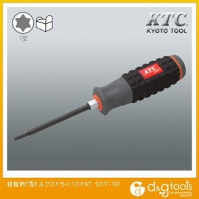 KTC KTC樹脂柄T型トルクスドライバT8 D1T-T8 1点