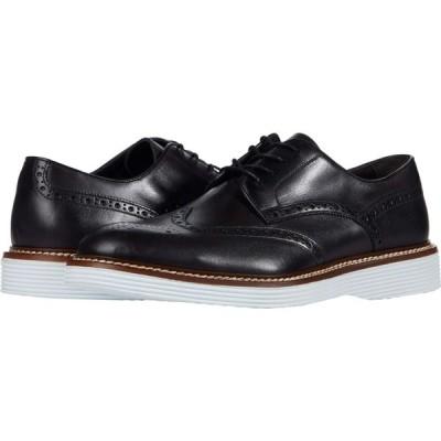 ジョンストンアンドマーフィー J&M Collection メンズ 革靴・ビジネスシューズ ウイングチップ シューズ・靴 Casteel Wing Tip Black