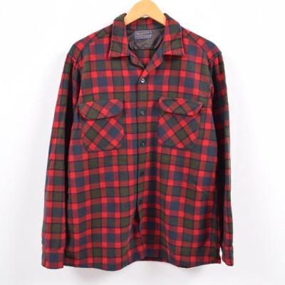 60年代 ペンドルトン ボードシャツ メンズM /wbi9900