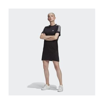【アディダス】 TEE DRESS レディース ブラック M adidas