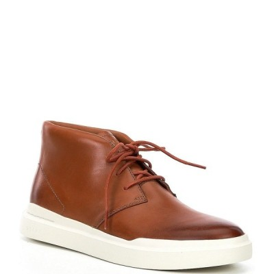 コールハーン メンズ スニーカー シューズ Men's GrandPr Rally Chukka Sneakers British Tan