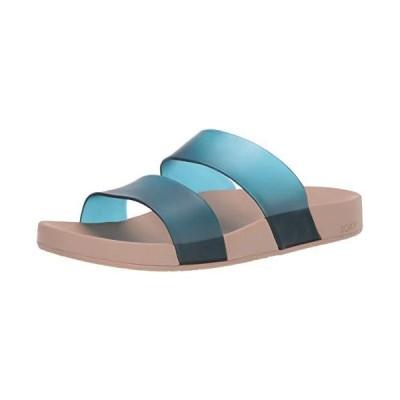 Roxy Women's Lonee Slide Sandal, teal 8 Medium US