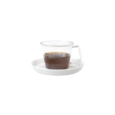 KINTO CAST コーヒーカップ&ソーサー 磁器 220ml