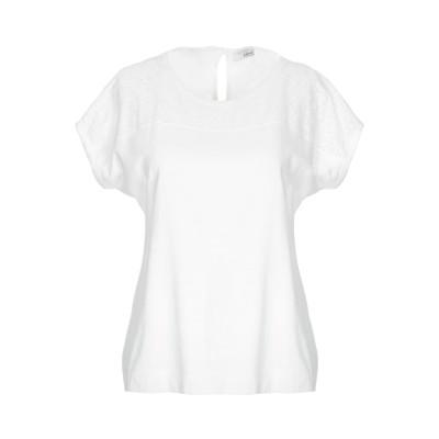 ブルーガール ブルマリン BLUGIRL BLUMARINE T シャツ ホワイト 36 コットン 94% / ポリウレタン 6% T シャツ
