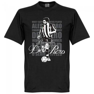 ユベントス デル・ピエロ Tシャツ SOCCER レジェンド サッカー/フットボール ブラック