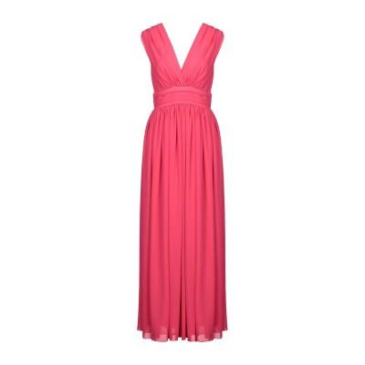 + - UGUALE ロングワンピース&ドレス フューシャ 42 ポリエステル 100% ロングワンピース&ドレス