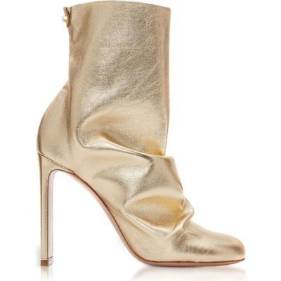 ニコラス カークウッド Nicholas Kirkwood レディース ブーツ ショートブーツ シューズ・靴 Light Gold Metallic Nappa 105mm D'Arcy Ankle Boots Gold