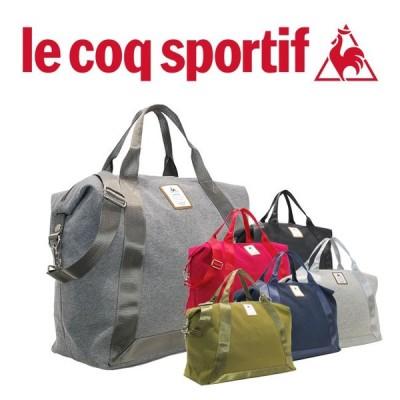 ルコック スポルティフ バッグ A4対応が嬉しいルコックならではのスクエアデザインの2WAYスエット2WAYボストンバッグ