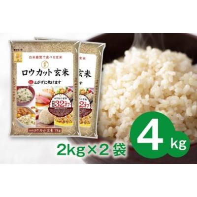 099H202 金芽ロウカット玄米4kg(2kg×2袋)