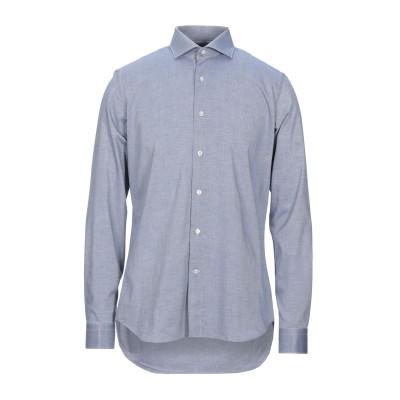 UNGARO シャツ ブルー 40 コットン 100% シャツ