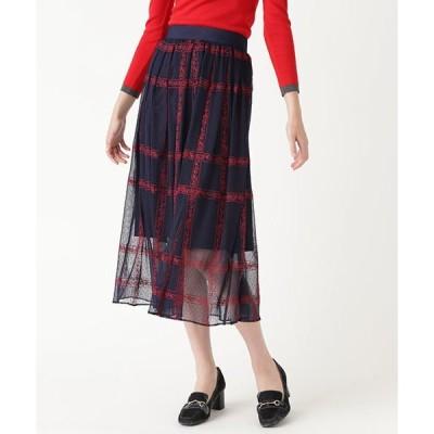 スカート ◆ミラチュールチェックスカート