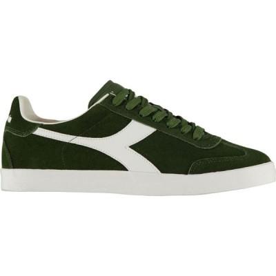 ディアドラライフスタイル Diadora Lifestyle メンズ スニーカー シューズ・靴 Pitch Trainers Green Antique