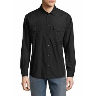 イロ Men Clothing Soso Cotton Shirt