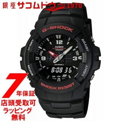 カシオ CASIO 腕時計 G-SHOCK ジーショック STANDARD BASIC アナログ/デジタルコンビネーションモデル G-100-1BMJF メンズ