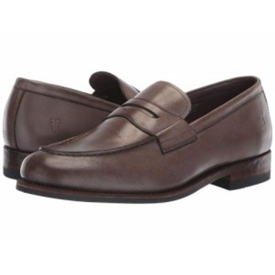 Frye フライ メンズ 男性用 シューズ 靴 ローファー Murray Penny Grey Washed Dip-Dye Leather【送料無料】
