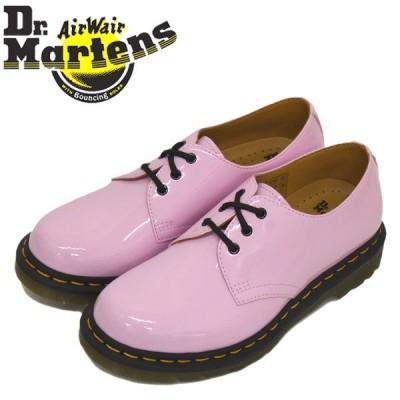 Dr.Martens (ドクターマーチン) WMS 26422322 1461 3EYE レディース パテントレザーシューズ PALE PINK