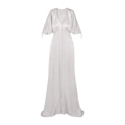 LES HÉROÏNES by VANESSA COCCHIARO ロングワンピース&ドレス ライトグレー 34 レーヨン 50% / レーヨン 5