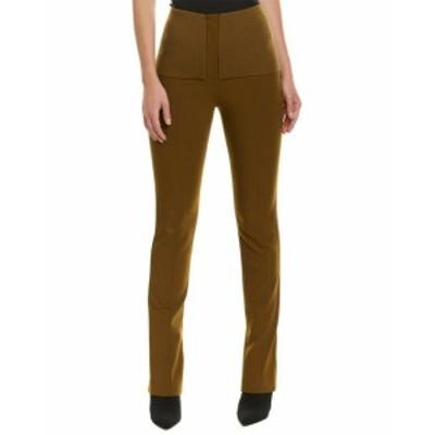 Tibi ティビ ファッション パンツ Tibi Anson Camille Wool-Blend Skinny Pant 0 Green
