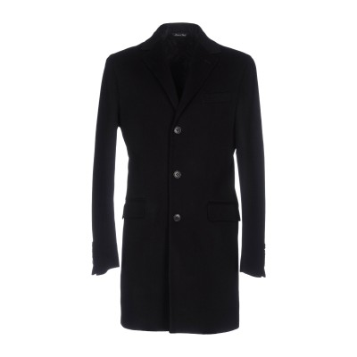 ブライアン デールズ BRIAN DALES コート ブラック 46 ウール 70% / ナイロン 20% / PES - ポリエーテルサルフォン