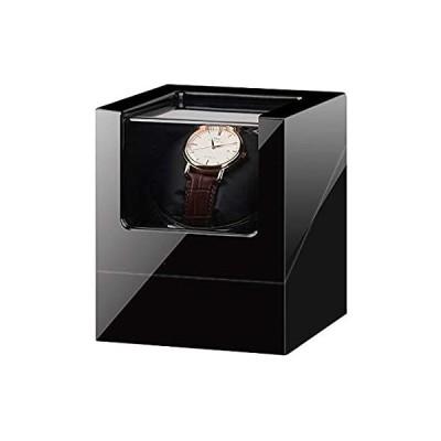 送料無料!WZ Single Automatic Watch Winder with Quite Motor Soft Flexible Watch Pillo
