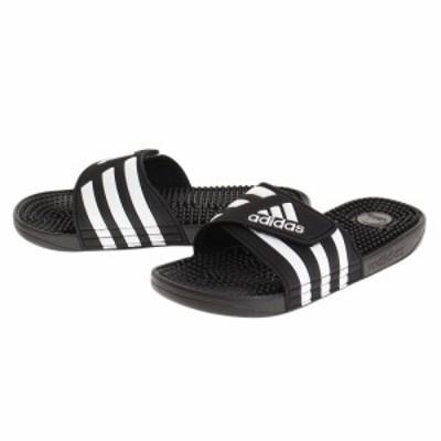 アディダス(adidas)サンダル ぺたんこ シャワーサンダル ADISSAGE F35580 ブラック 黒(Men's、La…