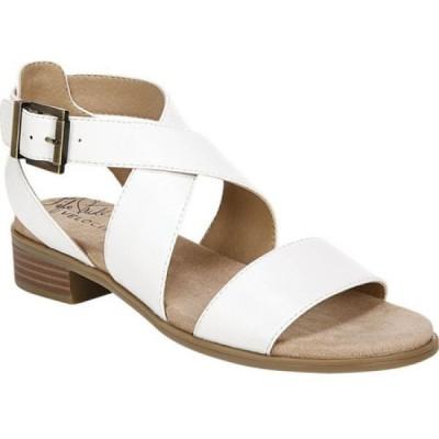 ライフストライド Life Stride レディース サンダル・ミュール シューズ・靴 Banning Strappy Sandal White