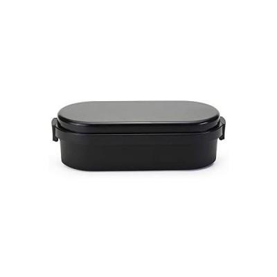 三好製作所 GEL-COOL ランチボックス 保冷剤一体型 ドームL キャビアブラック 0101-0174 (キャビアブラック ドームL)