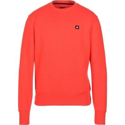 エレメント ELEMENT メンズ スウェット・トレーナー トップス Sweatshirt Orange