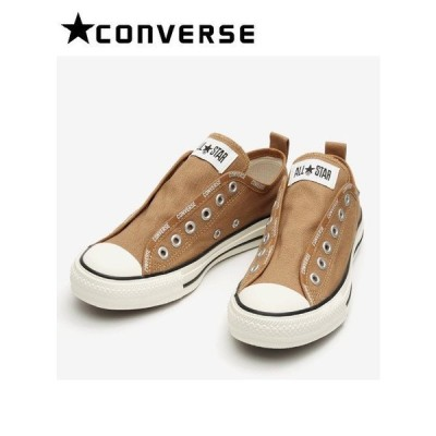 converse コンバース ALL STAR LOGO-BD SLIP OX BROWN  21春夏 31303850 スニーカー