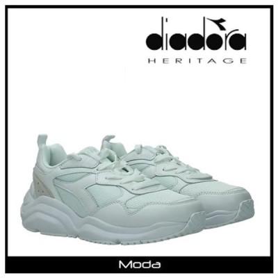ディアドラ スニーカー レディース ホワイト ホワイト DIADORA 靴 ロゴ