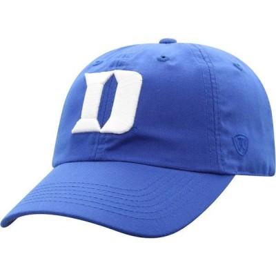 トップオブザワールド メンズ 帽子 アクセサリー Top of the World Men's Duke Blue Devils Duke Blue Staple Adjustable Hat