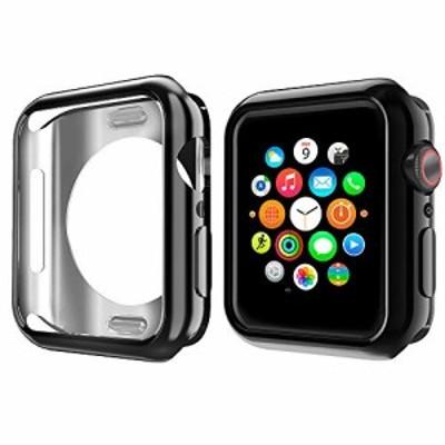 『全国送料無料』NN.ORANIE for Apple Watch Series 3/2 ケース 42mm メッキ TPU ケース 耐衝撃性 超簿 脱着簡単 保護ケース アップルウ