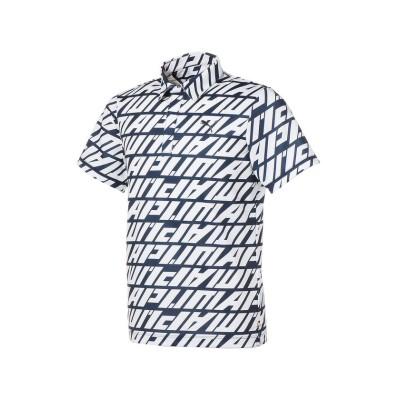 【プーマ】 ゴルフ DAY LIGHT スプリング 半袖 ポロシャツ メンズ NAVYBLAZER-BRIGHTWHITE XL PUMA