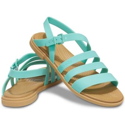 [クロックス公式] サンダル クロックス トゥルム サンダル ウィメン レディース、ウィメンズ、女性用 グリーン/緑 21cm,22cm,23cm,24cm,25cm Women's Crocs Tulum Sandal