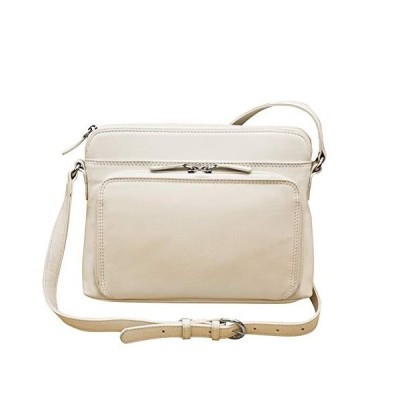 ILI アメリカ 日本未発売 43227-44984 ili New York 6333 Leather Shoulder Handbag with Side Organizer (B