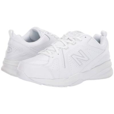 ニューバランス New Balance メンズ スニーカー シューズ・靴 608v5 White/White