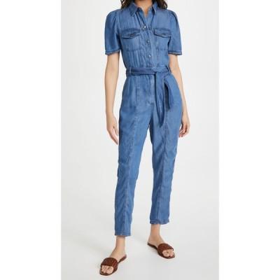 ビービーダコタ BB Dakota レディース オールインワン ジャンプスーツ ワンピース・ドレス West Behavior Jumpsuit Medium Blue